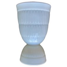 Royal Doulton Double Egg Cup White Textured Finish