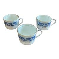 Coalport Revelry Blue Flat Cup Set