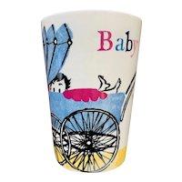 Vintage German Melitta Baby Cup / Mug