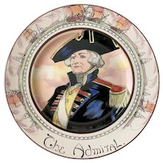 Vintage Royal Doulton Professional Series Plate the Admiral