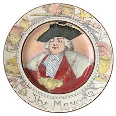 Vintage Royal Doulton Professional Series Plate the Mayor