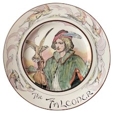 Vintage Royal Doulton Professional Series Plate the Falconer