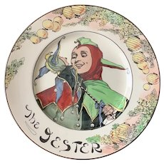 Vintage Royal Doulton Professional Series Plate the Jester