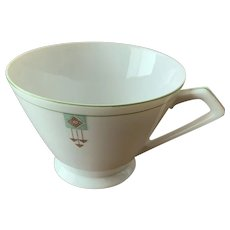 Noritake Occupied Japan N88 Pattern  Deco/Three Arrows  Cup Set