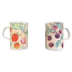 Roy Kirkham of England Country Fruits Mug Set