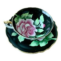 Orion China Made in Occupied Japan Rose Cup & Saucer