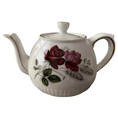 Wood & Sons Ellgreave Red Rose Teapot