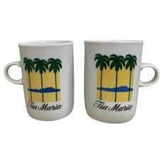 Schmidt Tia Maria Palm Tree Mug Set