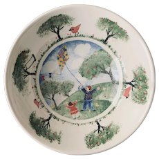 Nikko Remember When Pattern Soup Cereal Bowl