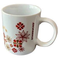 Starbucks 12oz Holiday Snowflake Mug
