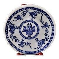 Walker China Restaurant Ware Monkey Dish Berry Bowl Blue Delph Pattern