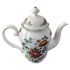 Vintage Barock Seltmann Weiden Floral Teapot