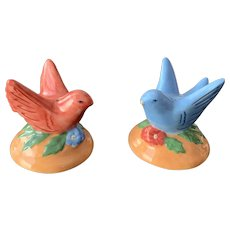 Zrike Joies de la Vie Bird Salt & Pepper Shaker Set