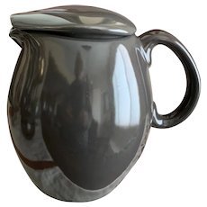 Iroquois China Russel Wright Casual Charcoal Pitcher with Lid
