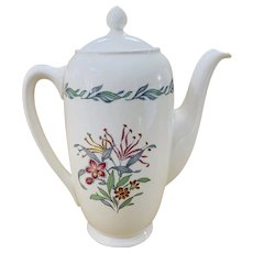 Royal Doulton Fairfield Pattern Coffee Pot
