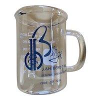 J & H Berge, Inc. Advertising Laboratory Beeker Mug