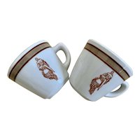 Vintage Jackson China Coffee Cup Set