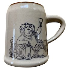 Holt Howard Bacchus Mug Stein