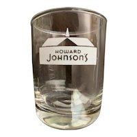 Howard Johnson's Drinking Glass