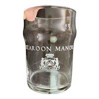 Scaroon Manor Drinking Glass