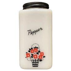 Vintage Tipp City Pepper Shaker