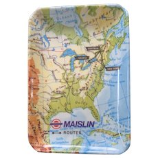 Maislin Routes Advertising Tray