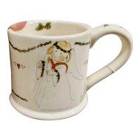 Annekabouke December Angel of the Month Christmas Mug