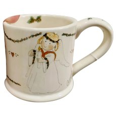 Annekabouke December Angel of the Month Christmas Mug