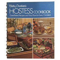 Betty Crocker's Hostess Cookbook - Recipes for Every Occasion Sixth Printing 1973