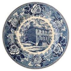 Schofield House Indiana's Masonic Shrine Wedgwood Plate