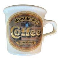 Vintage Aunt Jenny's Coffee Mug by Taylor International