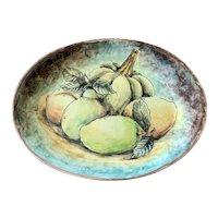 Santa Rosa Majolica Fruit Platter