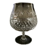 Cut Crystal Large Brandy Glass Snifter