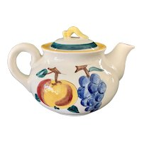 Stangl Pottery Fruit Pattern Teapot