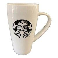 Starbucks 18oz White & Black Minerva Mug