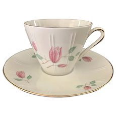 Winterling Bavaria Tulip Cup & Saucer Pattern 124