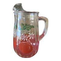 Vintage 1950's Tomato Juice Pitcher