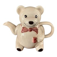 Kensington Teddy Bear Teapot Stoke on Trent