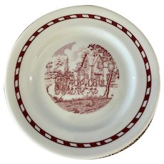 Shenango China Roselyn Castle Bread Plate