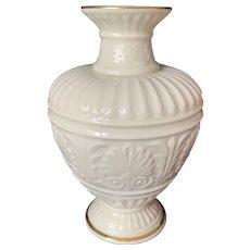 "Lenox Athenian 8 "" Vase Gold Trim"