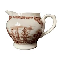Alfred Meakin Fair Winds Brown Creamer