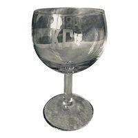 1983 Kansas City Wine Glass