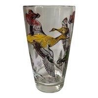 Hazel Atlas Flying Duck Glass Tumbler