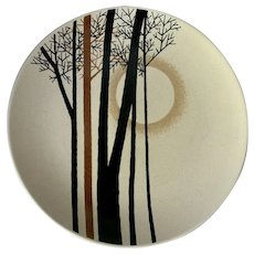 Mikasa Moon Shadow Indian Feast Chop Plate