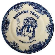 Mohawk Trail Massachusetts Novelty Souvenir Plate