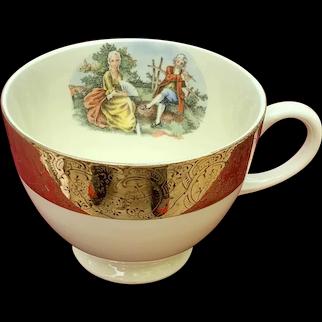 Mojen  China Fragonard Coffee Cup