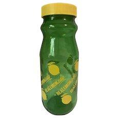 Anchor Hocking Glass Lemonade Jar Carafe with Recipe
