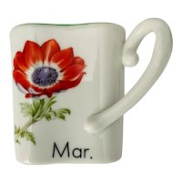 Toko Botanical Art Collection Y. Ohta March Cup Red Anemone