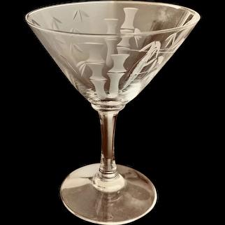Noritake Bamboo Liquor Cocktail Smooth Stem