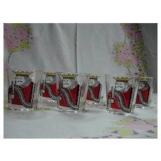 Federal Glass Kings Highball Glassware Set of 6